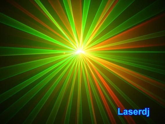 Laser Show 2 Cores - 150mw, Dmx, Som, Auto, Iluminação Dj
