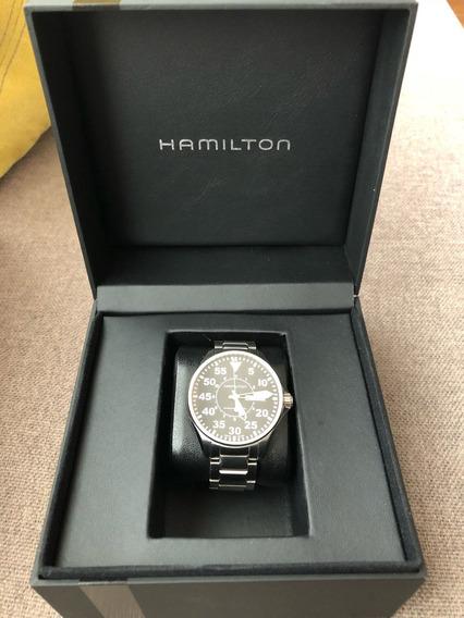 Reloj Hamilton Kahai Aviation Pilot Auto H644250