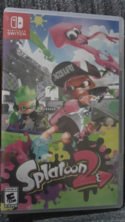 Estupendo Juego Para Nintendo Switch Splatoon 2