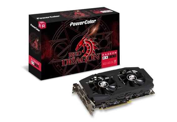 Placa De Video Radeon 8gb Rx 580 256bits Gddr5 Power Color