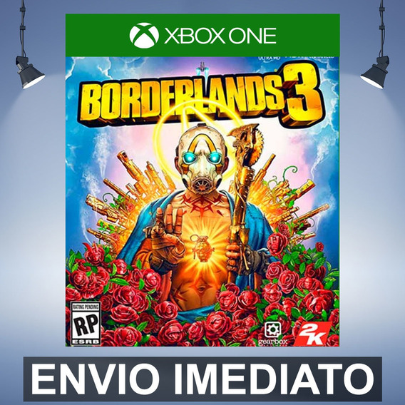 Borderlands 3 Deluxe Xbox One Código 25 Digitos