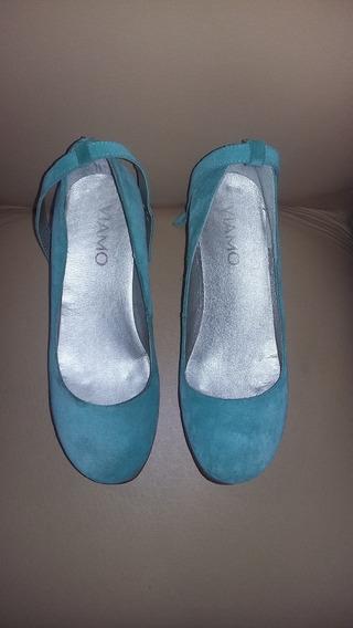 Zapatos De Gamuza Viamo
