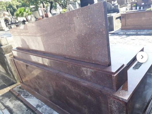 Passo Jazigo Sepultura Cemitério São Francisco Xavier - Caju