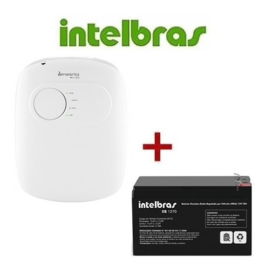 Fonte Ininterrupta Intelbras Fa 1220s Bateria 1270 12v Full