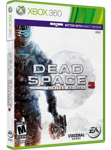 Jogo Dead Space 3 Xbox 360 Mídia Física Frete Grátis