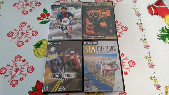Fifa 13 + Half Life + Road Rash + Sim City 2000