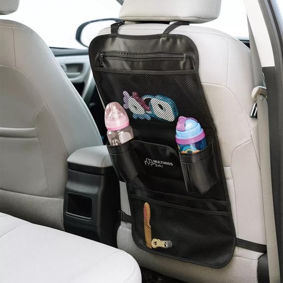 Porta Trecos Organizador Banco Carro Carrinho Bebê Multikids