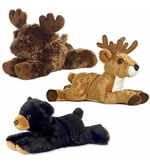 Aurora Bundle Deer Maxamoose Y Black Bear Woodland Forest Mi