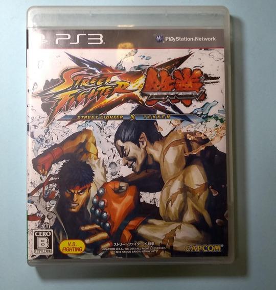 Street Fighter X Tekken Ps3 Japones