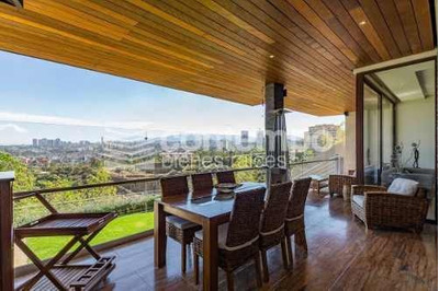 Hermosa YÚnica Residencia Amueblada En Bosque Real Con Espectacular Vista