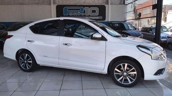 Nissan Versa Sl Unique 1.6 Branco 2018