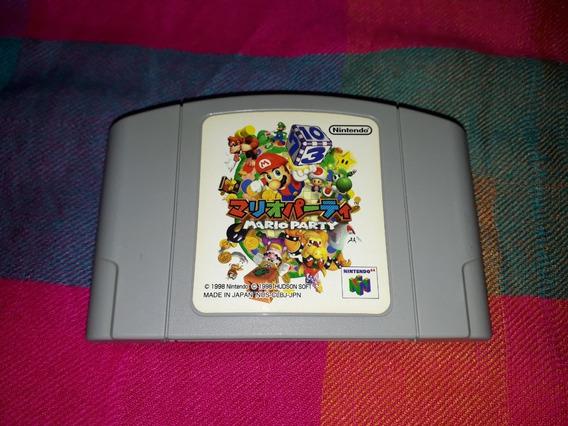 Cartucho Mário Party Original Nintendo 64 Japonês