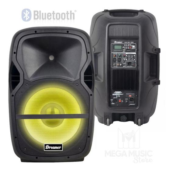 Caixa De Som Acústica Ativa Bluetooth 120 Rms