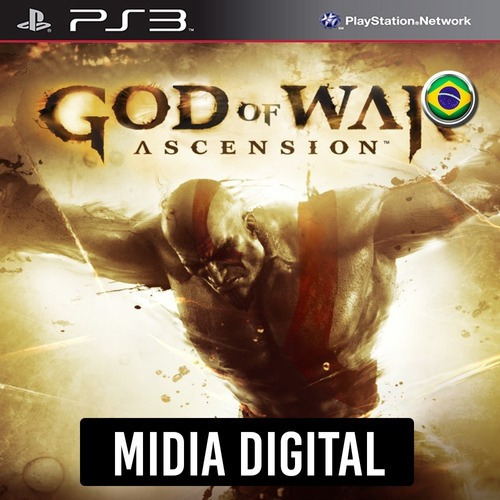 God Of War Ascension Portugues - Ps3 Psn*