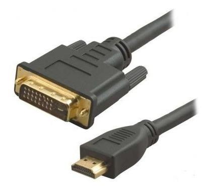 Cable Hdmi Macho A Dvi Macho  Unicos Usa Tu Tv Para  La Pc