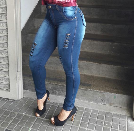 Calça Jeans Levanta Bumbum Vesteellas.