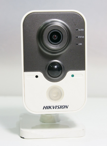 Camera Cube Ip Ds-2cd2410f-i Hikvision 1mp Ir 10m Poe