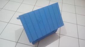 Casinha De Madeira Para Cachorro Grande Grande (gg) Azul