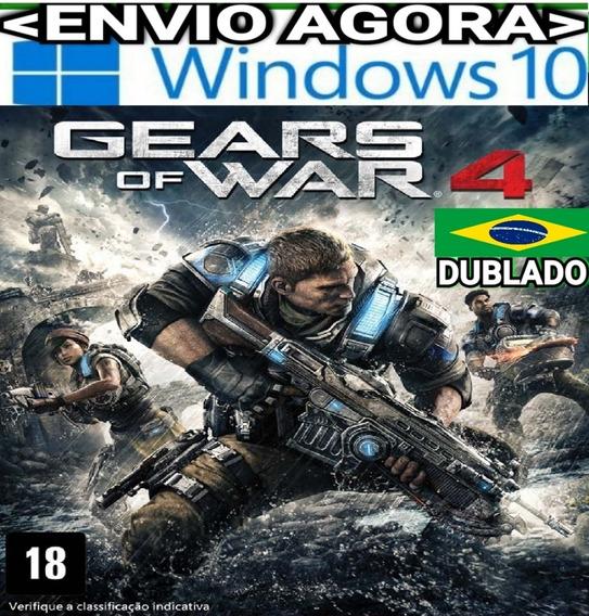 Gears Of War 4 Gears4 Pc Windows 10 Original Dublado