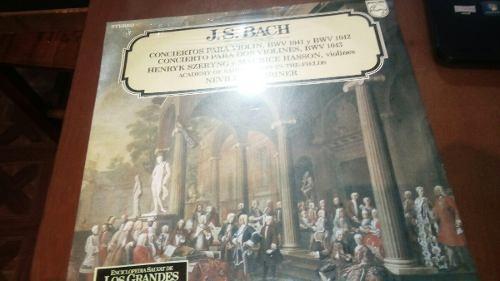 Imagen 1 de 2 de Lp Nuevo Sellado 1985 Bach Concierto Para Violin Do Menor