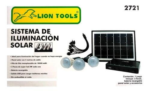 Imagen 1 de 5 de Kit Panel Solar 6 Watts