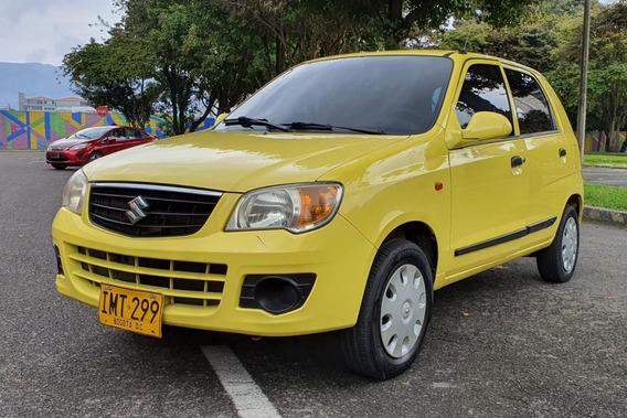 Suzuki Alto K10 Amarillo 2014 5 Puertas