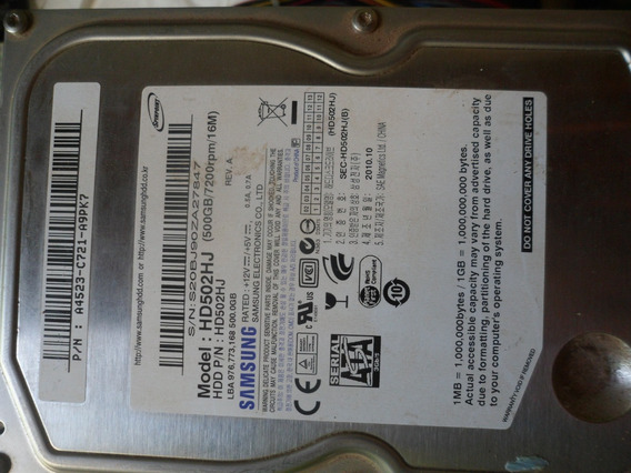 Hd Sata 500gb Pc