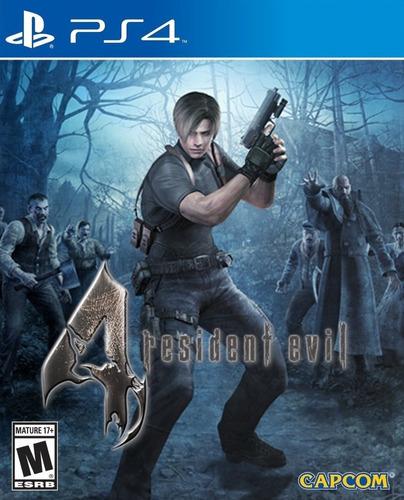 Resident Evil 4 Hd Juego Ps4 Original + Garantía + Español