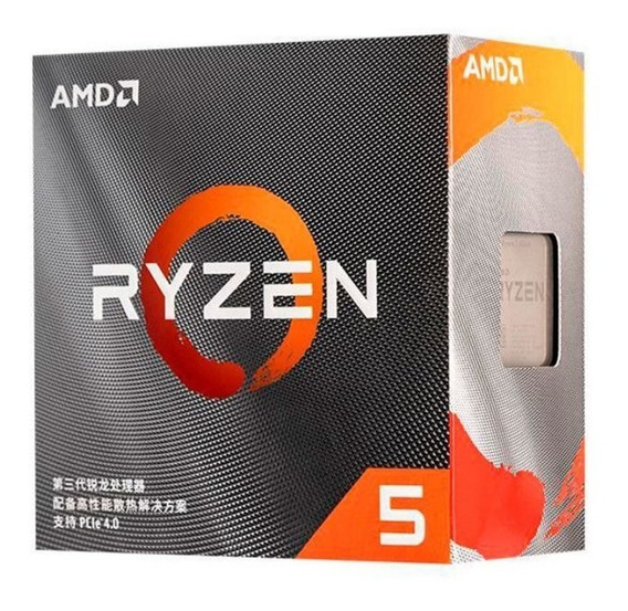 Processador Amd Ryzen 5 3500x Am4 Novo Lacrado