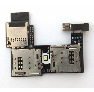 Flex Slot Chip Sim Memoria Moto G2 100% Original Cartão Card
