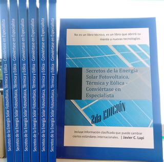 Energía Renovable Panel Solar Aerogenerador Libro Edicion 2d