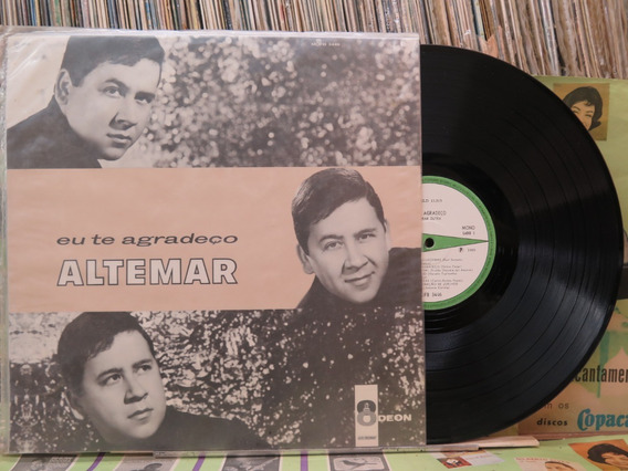 Altemar Dutra Eu Te Agradeço - Lp Odeon 1965 Mono Original