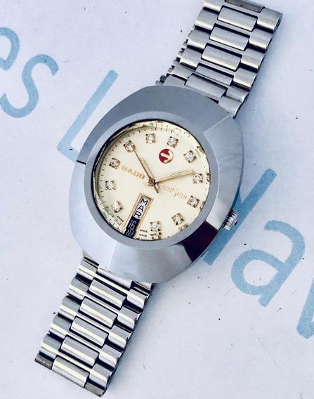 Reloj Rado Diastar Automático Tungsteno Plateado