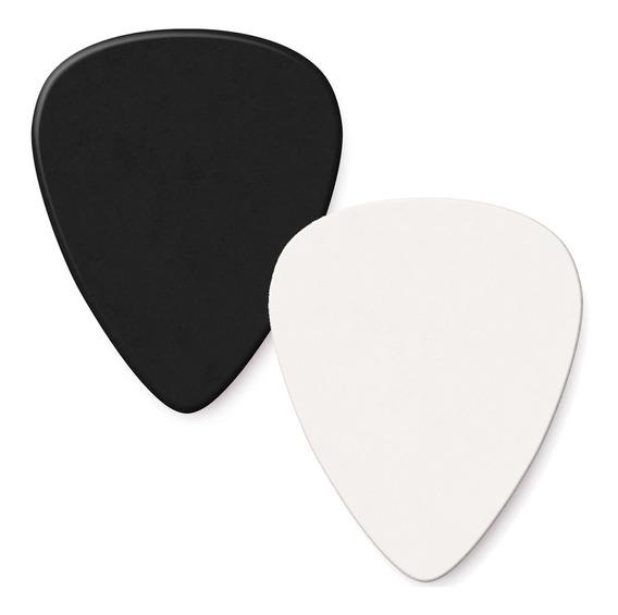3 X Pua Para Guitarra Generica Color Blanco Y Negro