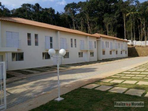 Imagem 1 de 20 de Casa Geminada Com 02 Dormitórios - Quinta Dos Angicos - Ca1986