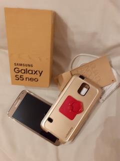 Celular Samsung S5 Neo Dorado