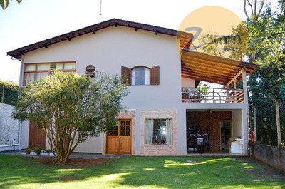 Casa Residencial À Venda, Centro, Monte Alegre Do Sul - Ca0569. - Ca0569