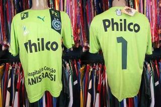 Goiás 2013 Camisa Goleiro Tamanho Gg Número 1.