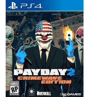 Payday 2 Ps4 - Juego Fisico - Prophone
