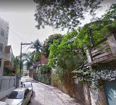 Terreno À Venda, 547 M² - Icaraí - Niterói/rj - Te0096