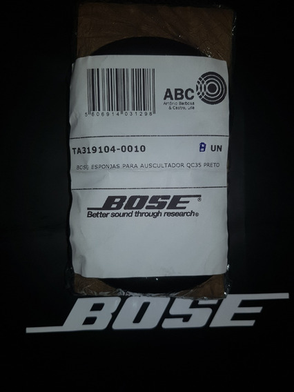 Par Espuma Original Cinza P Fone Bose Qc35 1 E 2º Versao
