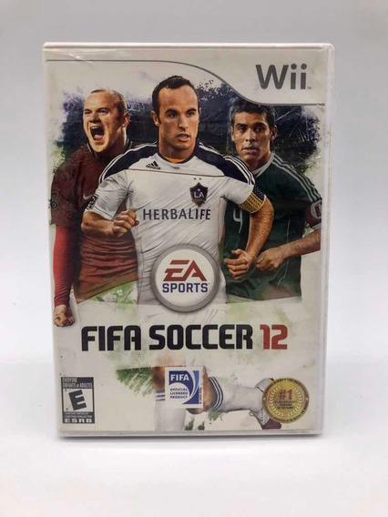 Fifa Soccer 12 Nintendo Wii Original Americano Completo