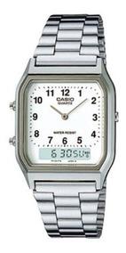 Relógio Casio Unissex Vintage Aq-230a-7bmq