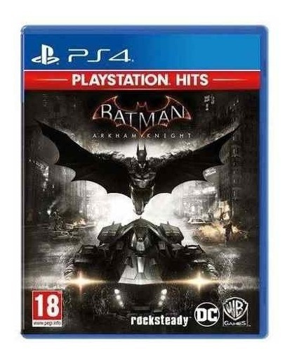 Batman Arkham Knight Ps4 Mídia Física Lacrado