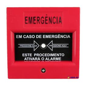 Acionador Alarme T/ Quebra Vidro C Convenc. Cl 213