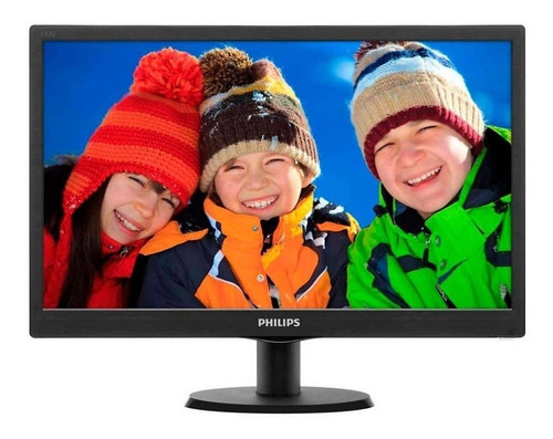 "Monitor Philips V 193V5LHSB2 LCD 18.5""  negro 110V/220V"
