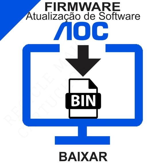 Atualização De Software Firmware Tv Aoc Le24d1450