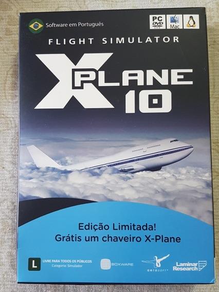 X-plane 10 Ed. Limitada - Sem Chaveiro