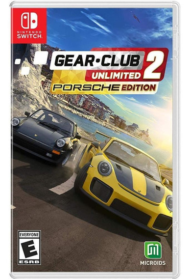 Gear Club Unlimited 2 Porsche Edition Switch Mídia Física