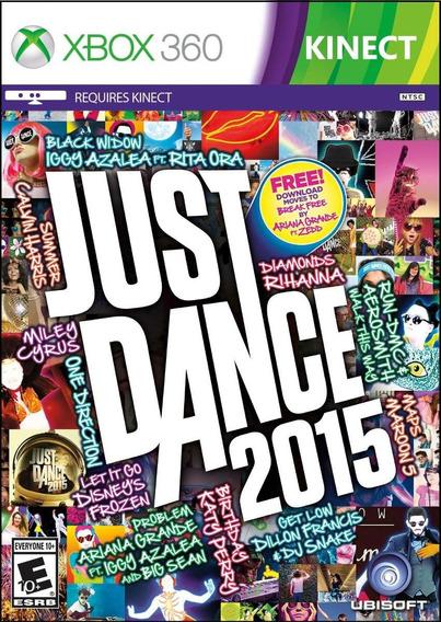 Just Dance 2015 Xbox 360 | Mídia Física Original Playgorila